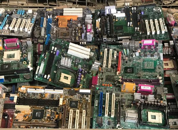 Elektroschrott Leiterplatten